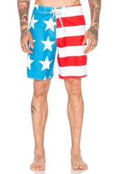 Ambsn Home Boardshort Red