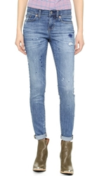 Madewell Novelty Paint Splatter Jeans Blue