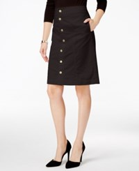 Charter Club Button Front Corduroy Skirt Only At Macy's Rich Truffle