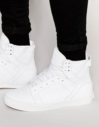 Supra Skytop Classics Leather Trainers White