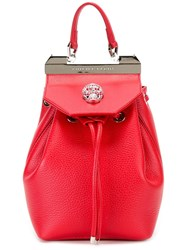 Philipp Plein 'Orchid' Backpack Red