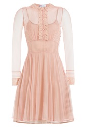Red Valentino Tulle Dress Rose