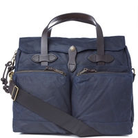 Filson Tin Cloth 72 Hour Briefcase Navy