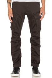G Star Rovic Zip 3D Tapered Pant Charcoal