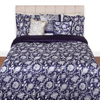 Etro Whitehorse Duvet Set 200 Blue