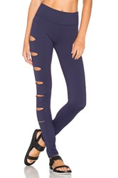 Lovers Friends Work By X Revolve In A Flash Legging Navy
