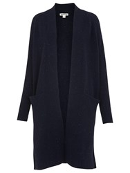 Whistles Donegal Knit Cardigan Navy