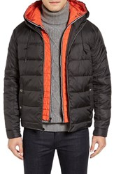 Cole Haan Men's Hooded Puffer Jacket With Hooded Bib