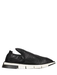 Cinzia Araia Textured Soft Leather Sneakers
