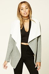 Forever 21 Fleece Lined Heathered Jacket