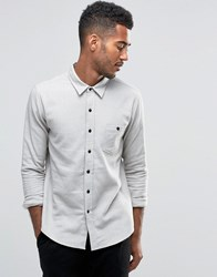 Another Influence Textured Shirt Grey