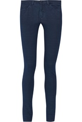 Mm6 Maison Margiela Stretch Denim Skinny Jeans Blue