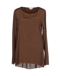 Cycle Blouses Cocoa