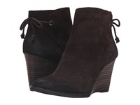 Lucky Brand Yamina Java Oil Suede Women's Boots Brown