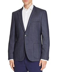 Hugo Antano Slim Fit Sport Coat Dark Blue