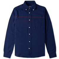 Gant Rugger Oxford Stripe Shirt Blue