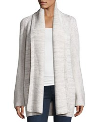 Vince Open Front Car Coat Sweater Winter Whi