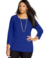 Alfani Plus Size Tiered Top Only At Macy's