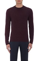 Theory Men's Cashmere Donners C Sweater Red