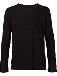 Bed J.W. Ford Longsleeve T Shirt Black