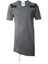 Lost And Found Rooms Washed Graphic T Shirt Grey