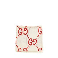 Gucci X Guccighost Shawl Ivory Red