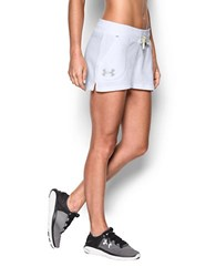 Under Armour Favorite French Terry Shorts White