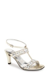 Women's Love And Liberty 'Blanca' Ankle Strap Sandal Gold