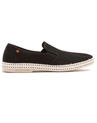 Rivieras 20 Degree Black Moccasins