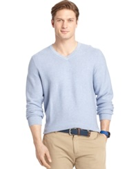 Izod Big And Tall V Neck Sweater Light Heather