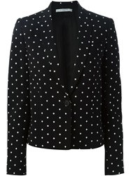 Givenchy Cross Print Blazer Black
