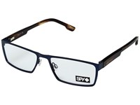 Spy Optic Nelson Matte Navy Dark Tort Reading Glasses Sunglasses Clear
