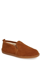 Minnetonka Suede Slipper Men Brown