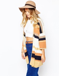 Warehouse Floppy Wide Brim Hat Camel