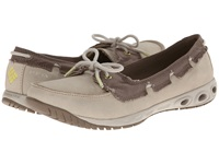 Columbia Sunvent Boat Pfg Fossil Pumice Stone Women's Shoes Beige