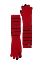 Marc By Marc Jacobs Eva Wool Gloves Red