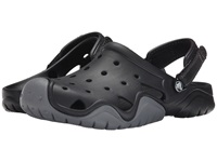 Crocs Swiftwater Camp Clog Black Charcoal Men's Shoes