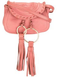 See By Chloe 'Polly' Belt And Crossbody Bag Pink Purple