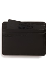 Porsche Design 'Classic Line' Leather Card Case Black