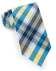 Lord And Taylor Brandon Plaid Tie Yellow