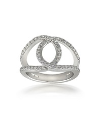Lord And Taylor Sterling Silver Infinity Ring