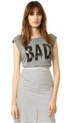 Pam And Gela Bad Tee Heather Grey