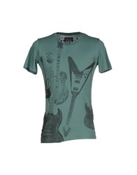 Rare Ra Re Topwear T Shirts Men Green