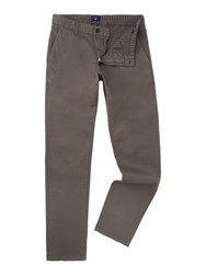 Gant Men's Comfort Fit Slim Chino Grey