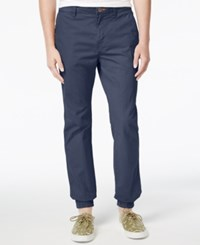 Superdry Men's Rookie Grip Chino Joggers Dusted Blue