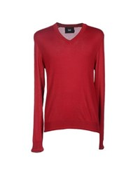 Dandg Knitwear Jumpers Men Red