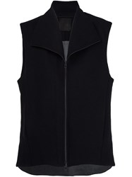 Lost And Found Ria Dunn Zipped Vest Black