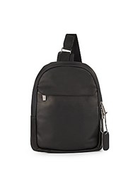 Kenneth Cole Reaction Lea Leather Backpack Black