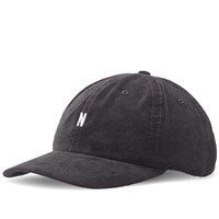 Norse Projects Corduroy Sports Cap Grey