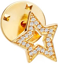 Astley Clarke Star Biography 18Ct Yellow Gold Plated Vermeil And Sapphire Pin